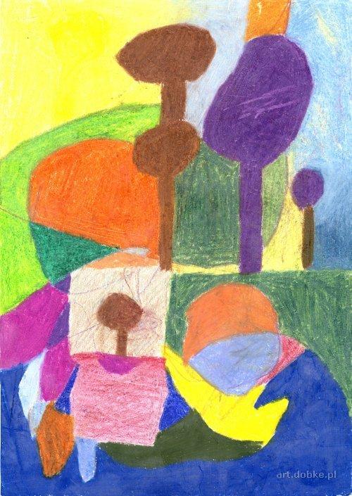 pastele - Abstrakcja - Świnoujście