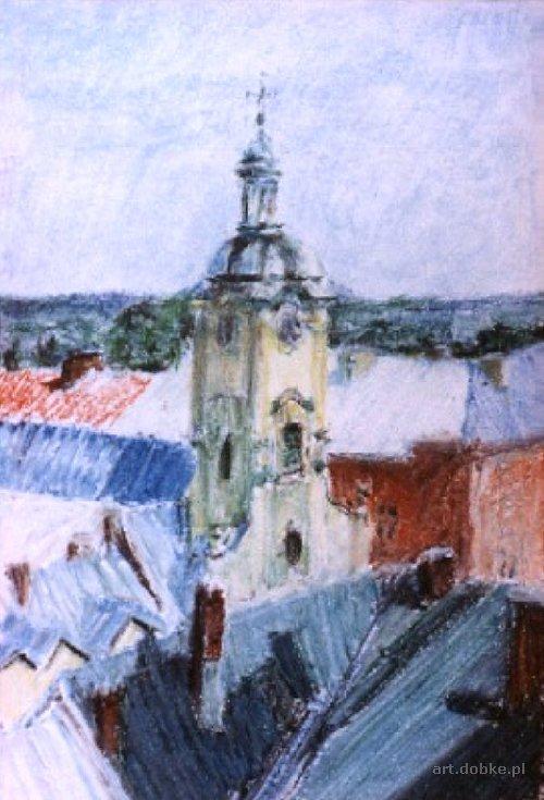 pastele - Dachy - Cieszyn