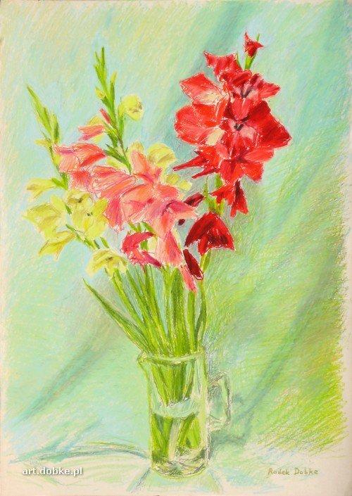 pastele - Gladiole - Świnoujście