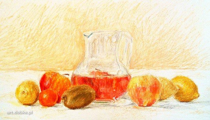 pastele - Owoce i woda - Świnoujście