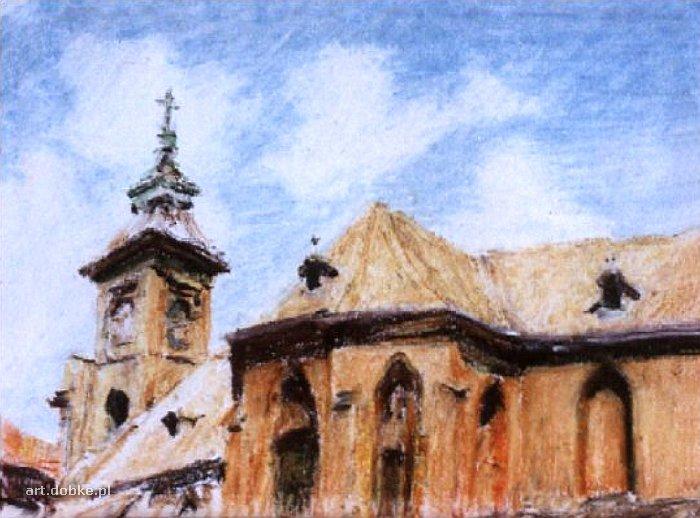 pastele - Świątynia - Cieszyn